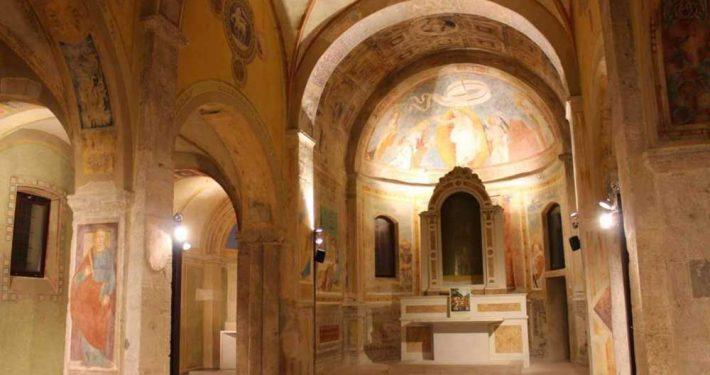 Impianto illuminazione chiesa
